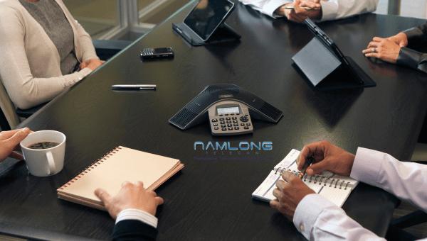 điện thoại hội nghị polycom