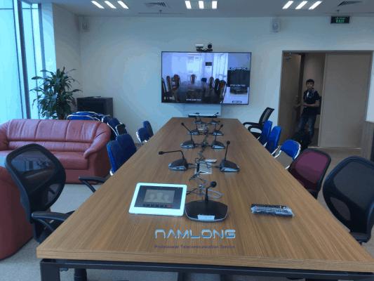 Nam Long lắp đặt tại đài truyền hình Việt Nam