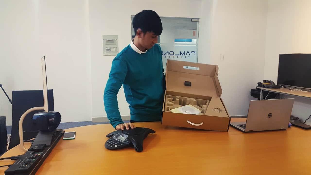 điện thoại hội nghị polycom soudstation2 exp